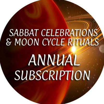 Sabbat Celebrations / Moon Cycle Rituals / Annual Subscription
