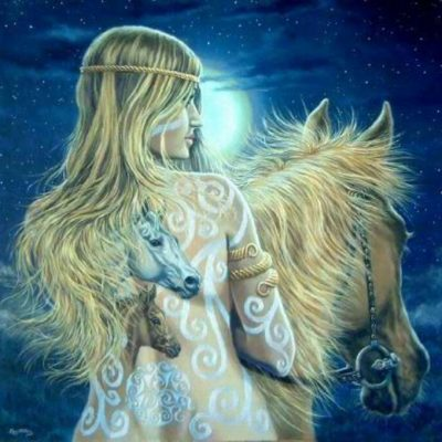 goddess epona and solstice