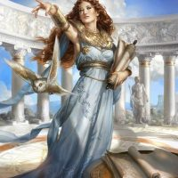 October Full Moon Meditation – Dedicated to the Goddess Athena