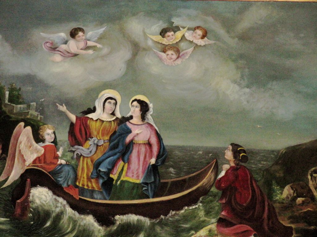3 mary's in boat