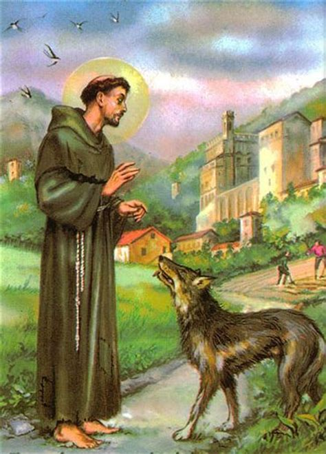 St francis wolf