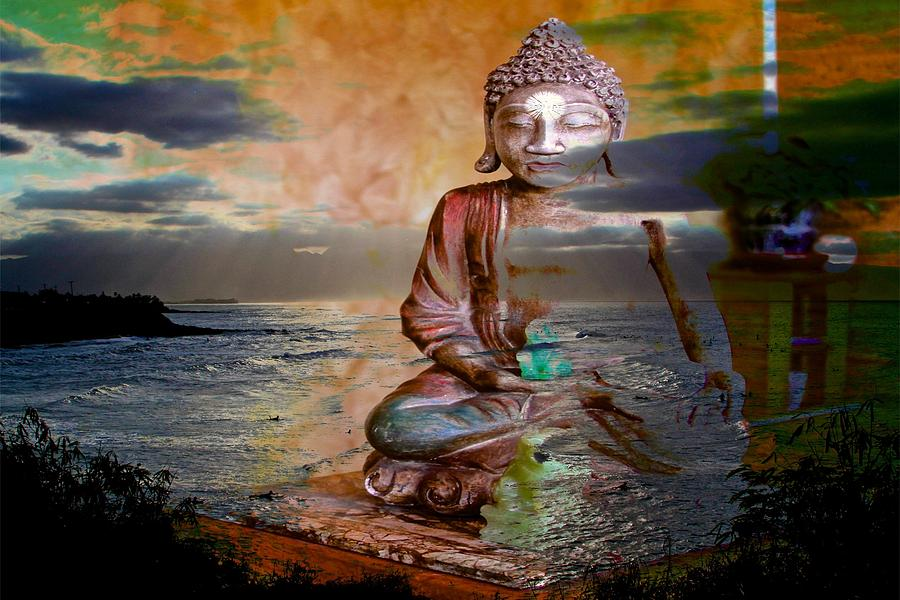 water blessing buddha
