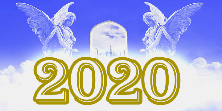 number 2020 angel