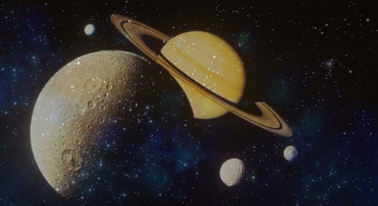 pluto and saturn