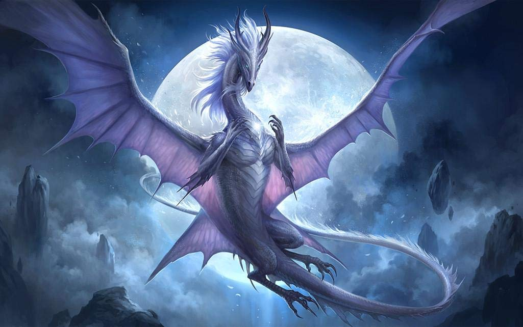 White Dragon moon