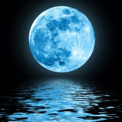 October Blue Moon