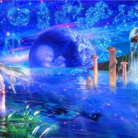 The August Full Moon is in Aquarius is dedicated to Crystal Woman