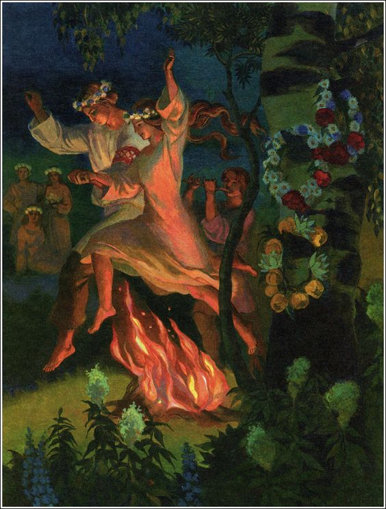 Beltane fire dance