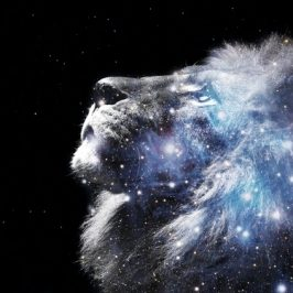 Stepping Through the Lion's Gate to merge with your Future Self