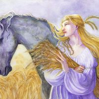 June 17th – Full Moon Dedicated to Epona